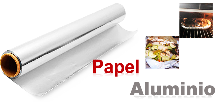 Papel aluminio - Papel para cocinar ...